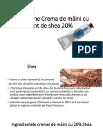 L'Occitane crema de mainia 20% shea