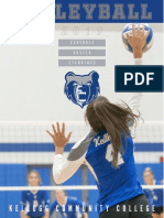 2019-20 KCC Women's Volleyball Media Guide