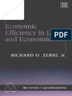 Zerbe, Richard - Economic efficiency in law and economics (1).pdf