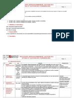 Procedure Appro Gestion Stock Fournisseurs Benplast