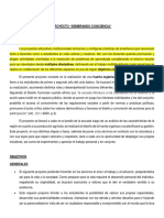 Proyecto Sembrando Conciencia