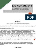 CE Laws