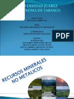 Recursos Minerales No Metalicos
