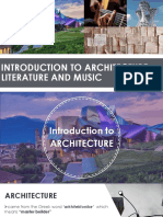 Achitecture and Music
