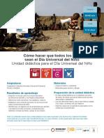 Dia Universal Del Nino - Actividades CDN30