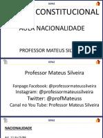 3955 Da Nacionalidade Mateus Silveira