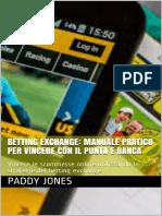 Betting Exchance Manuale Pratico