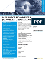 Rpm Course Overview Mining for Non Miners Advanced Underground Coal.v1