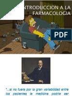 FARMACOLOGÍA - INTRODUCCIÓN