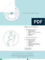 Freshconnect User Guide
