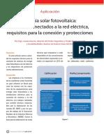 Energía solar fotovoltaica