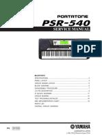 teclado psr 540