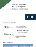 Ehics and Morality