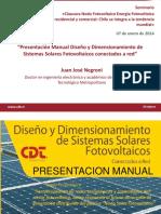 Clausura Nodo Fotovoltaico Energía Fotovoltaica residencial y comercial