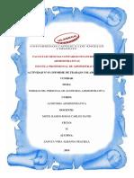 Actividad Nº 03- Informe de Trabajo Colaborativo I UNIDAD