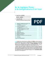 Application de la logique floue - commande de la température.PDF