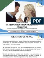 Proyecto Imataca Diapositivas Solucion Conflictos Mediante Negociacion