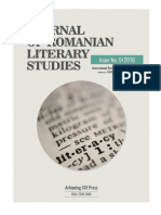 Journal of Romanian Literary Studies no. 9