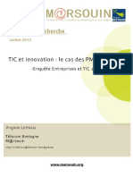 4 Pages TIC Et Innovation