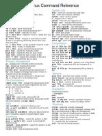 Unix Reference Card