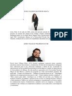 ARTICULO DE OPINIÓN- ALLISON MAYURI