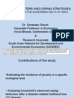 Natural disasters and coping strategies of the poor in the Sundarban delta of India - presentation
