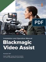 Black Magic Video Assist Manual