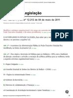 11 _ Lei Nº 12.212 de 04 de Maio de 2011, Governo Do Estado Da Bahia