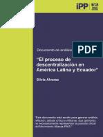 El proceso de descentralización de américa latina