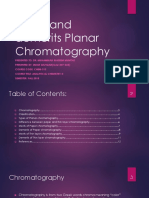 Planar Chromatography