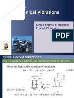 SDOF Forced Vibrations