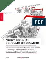 Nueva ruta de consumo en Ecuador