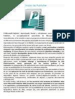 Publisher Definicion