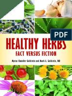 Healthy Herbs Fact versus Fiction