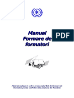 Manual formarea formatorilor
