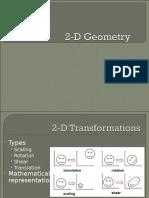 03 2D-3D Geometry