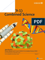 GCSE combined Science specification