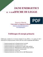 02 SEA Fabbisogni Energetici e Verifiche Di Legge
