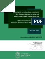 FORMULACIÓN DE UN PROGRAMA INTEGRAL DE GESTIÓN AMBIENTAL PARA UN SUBSECTOR AGROPECUARIO (PGAS)