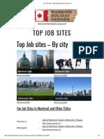 Top Job Sites » WorkingHolidayinCanada.com