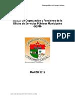 manual de funciones municipal
