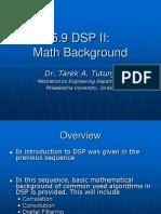 DSP II  Math Background