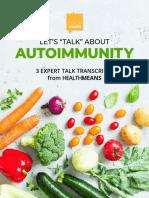 HealthMeans Lets Talk About Autoimmunity