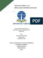 Ainun Ni'Am (857672409) Ringkasan Strategi Pembelajaran Di SD Modul 3 & 4