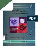 Breviario de Estructura de Los Materiales