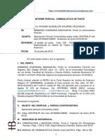 Caso 126 - 2018 Fisc. Prov. Espec. TID Hco. Inv. Roxana G. Aguirre Valdivieso Per.crim de Parte.