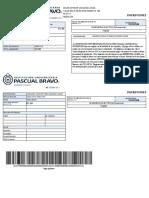 Liquidacion de Inscripcion INGENIERIA ELECTRICA(Presencial) 1000405083 20201 122-012158