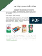Los tipos de arroz y sus usos en la cocina.docx