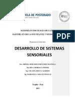 Desarrollo de Sistemas Sensoriales - Mayo 2015
