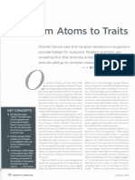 FROM ATOMS TO TRAITS